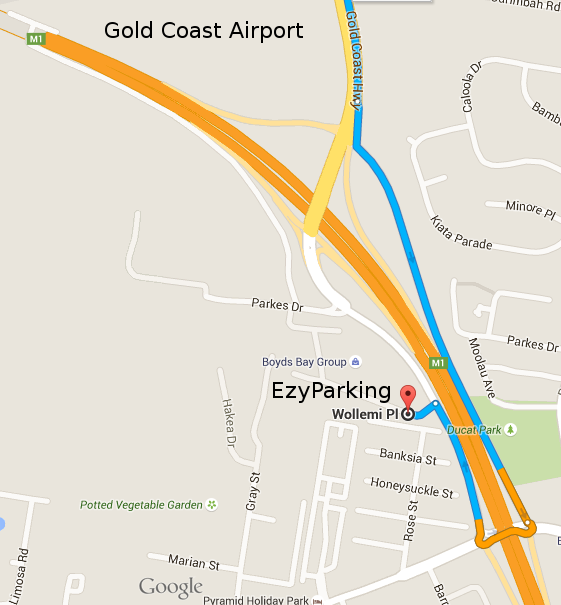 Wollemi Place Directions from Gold Coast Hwy
